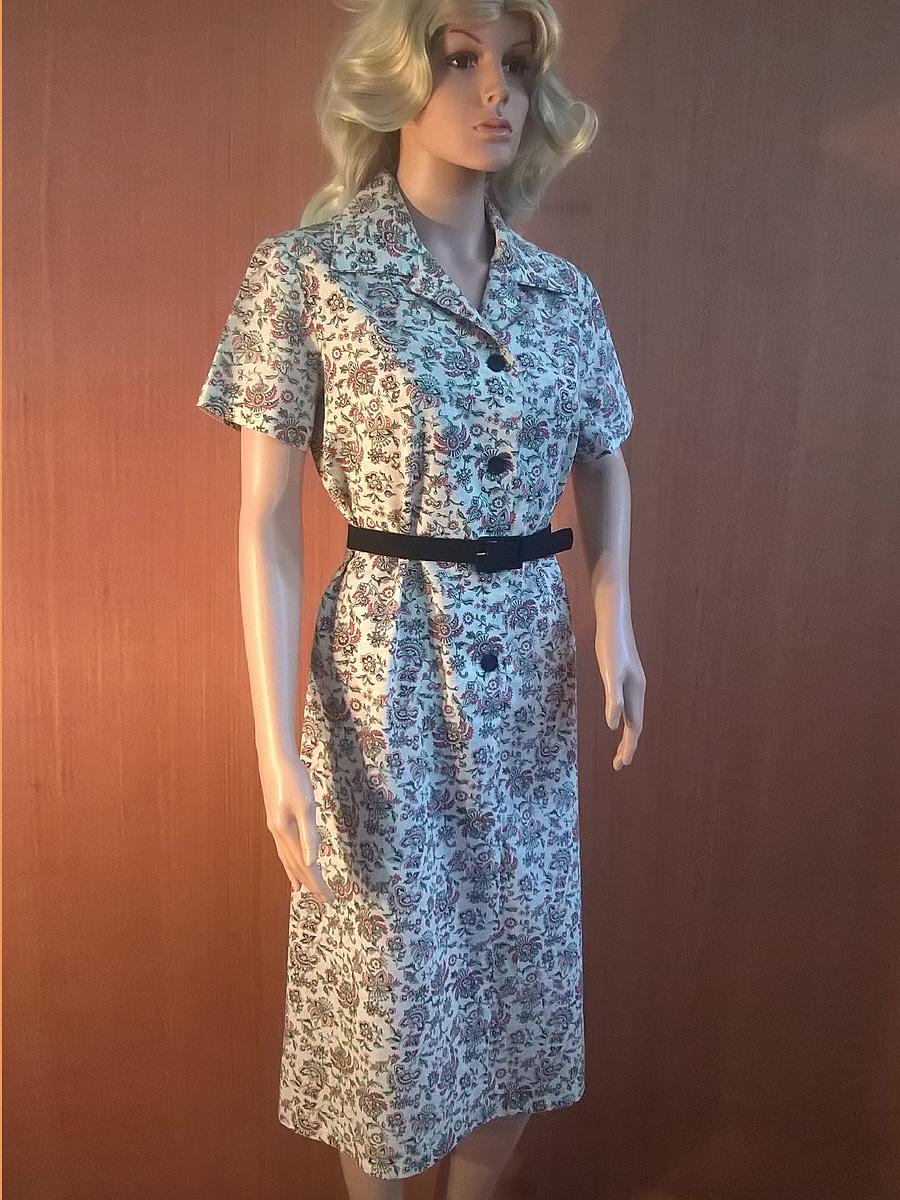 Vintage 1970s English Lady Dress. Paisley. Seventies fancy dress 70s ...