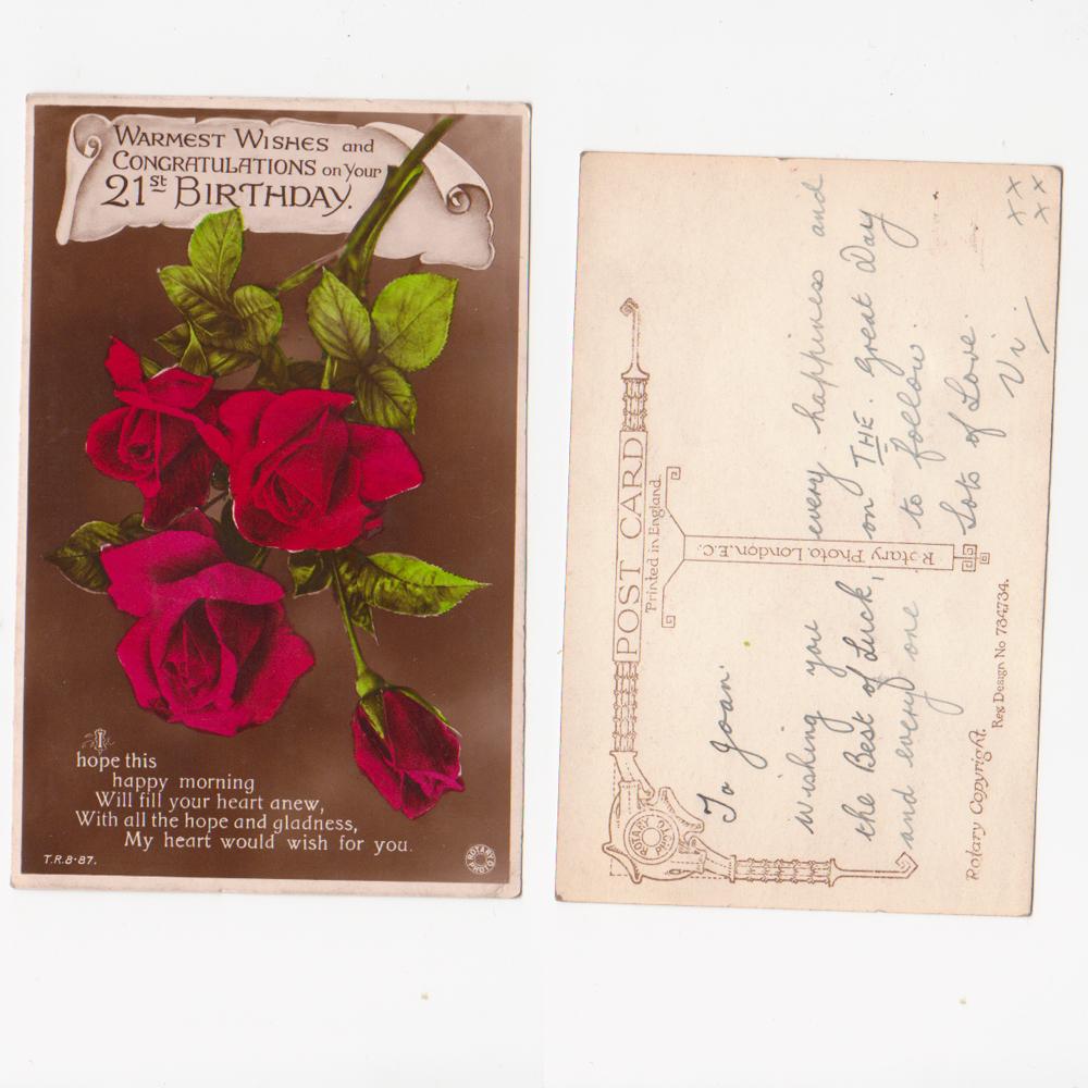 Vintage Greetings Vintage Birthday Cards Vintage Christmas Cards