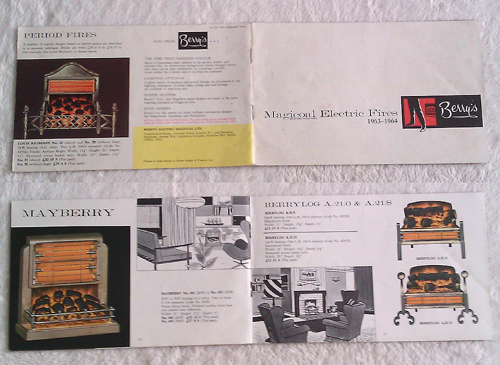 Vintage Home Heating Ephemera For Sale Genuine Vintage Showroom