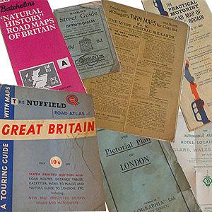 Vintage Maps For Sale Genuine Vintage UK British Isles Europe - Vintage road maps for sale