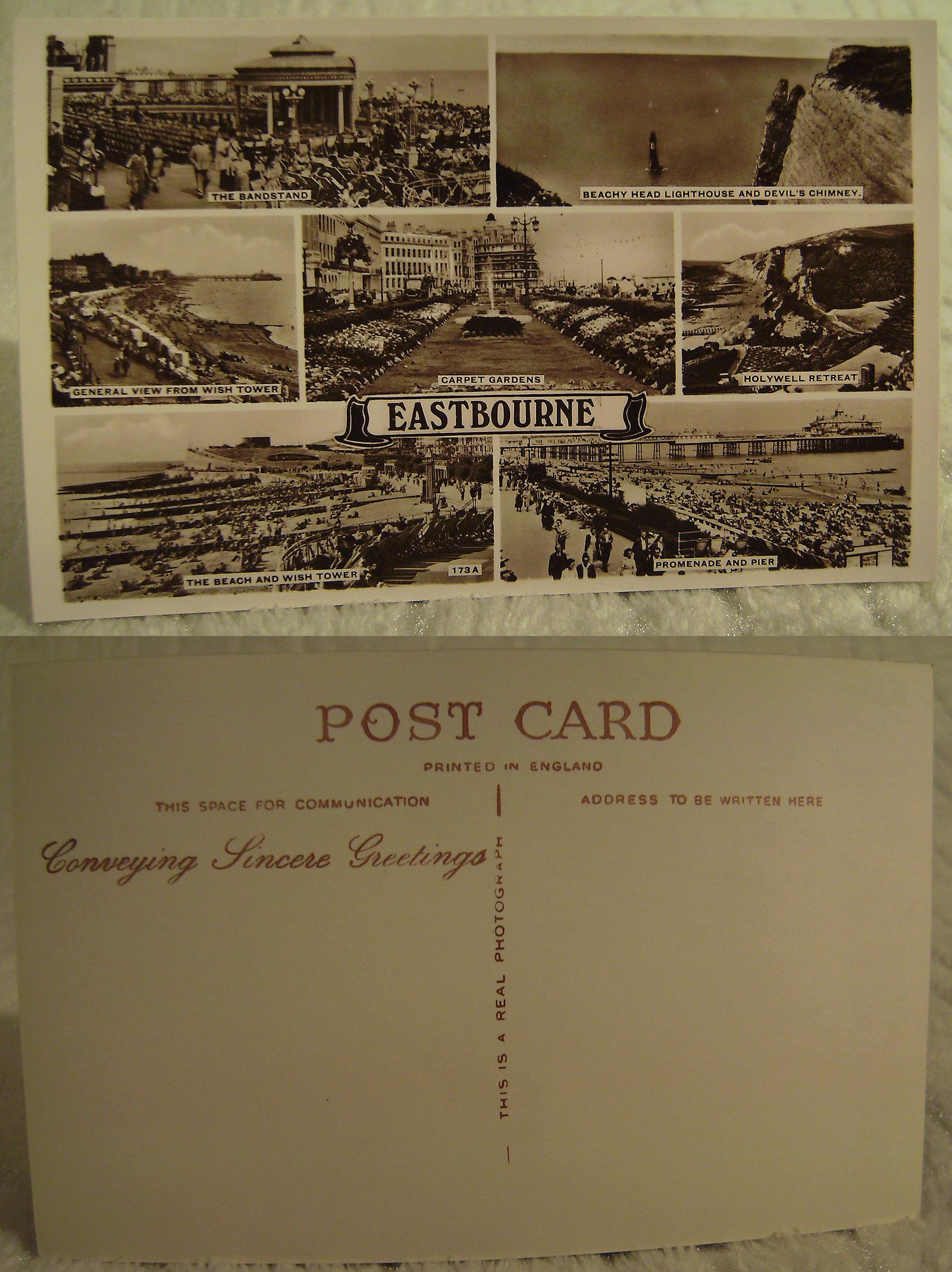 Vintage Postcards For Sale  Vintage Holidays film props